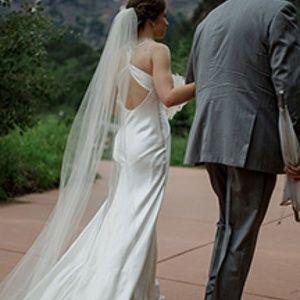 Wedding veil, long wedding veil, White veil